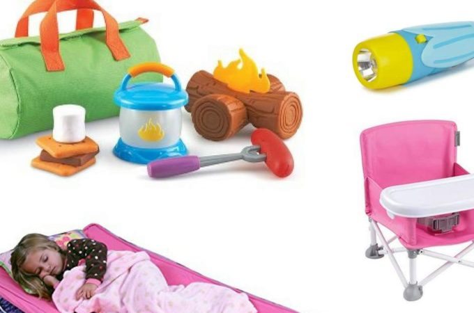 Best Camping Items for Toddlers