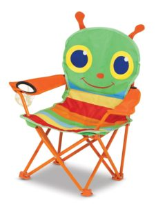 toddler camp chair Melissa and Doug