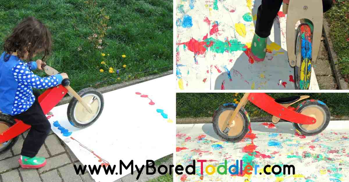 giant process art for toddlers feature