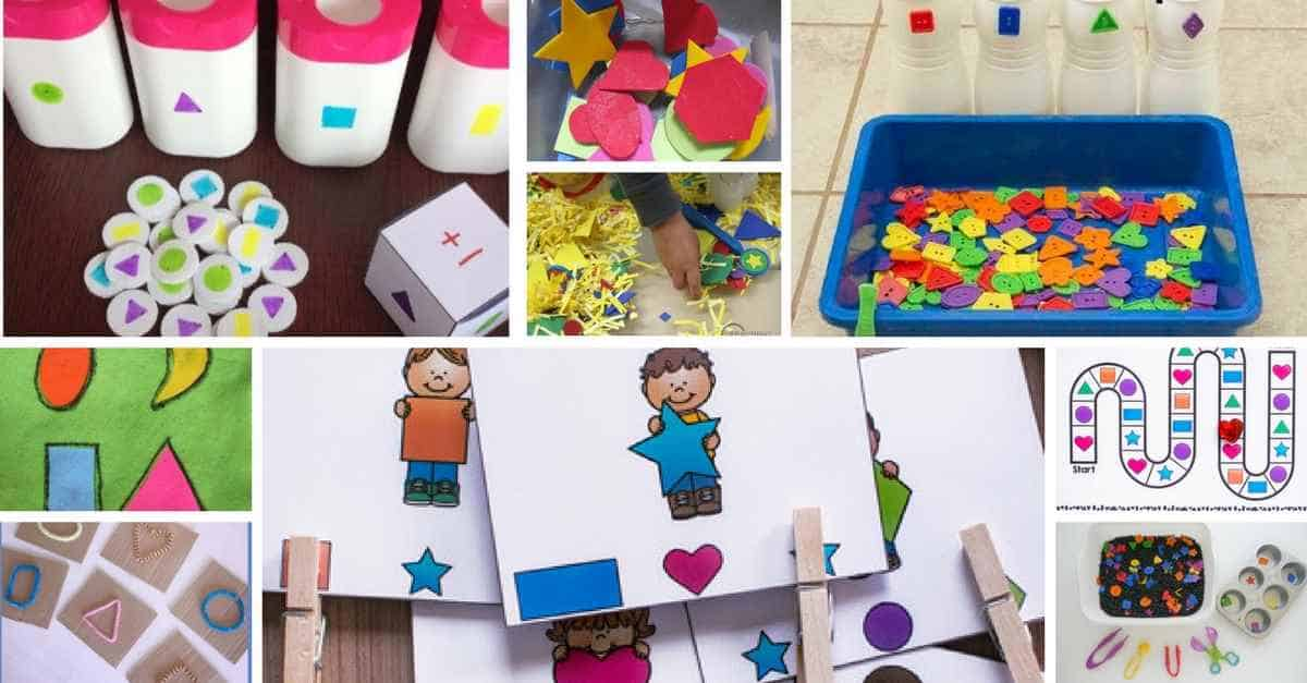 Shapes Activities For Toddlers
