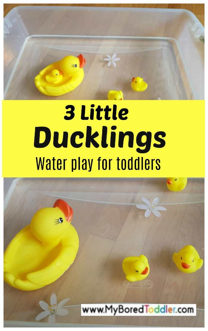 3 little ducklings water play