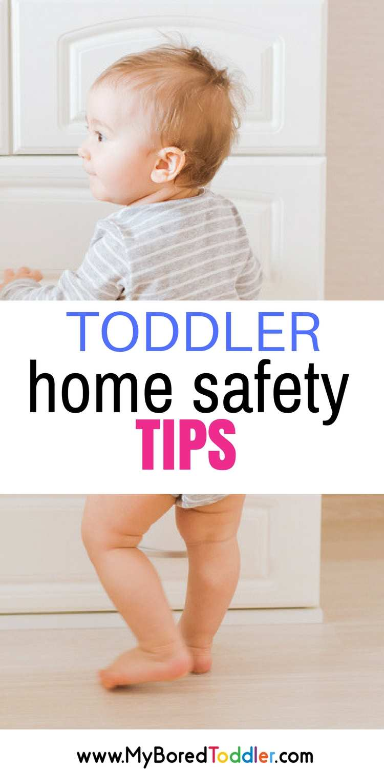 Baby and Toddler home safety tips. Tips to babyproof your house or apartment