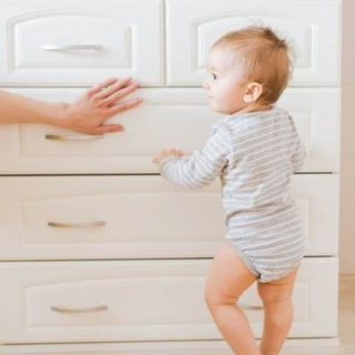 baby and toddler home safety tips. Tips to babyproof and toddlerproof your house or apartment