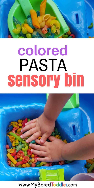 Simple Sensory Bin Challenge Day 4