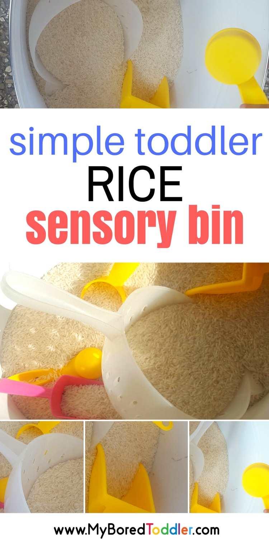 Simple Sensory Bin Challenge Day 2