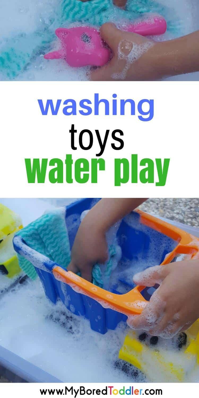 washing toys water play