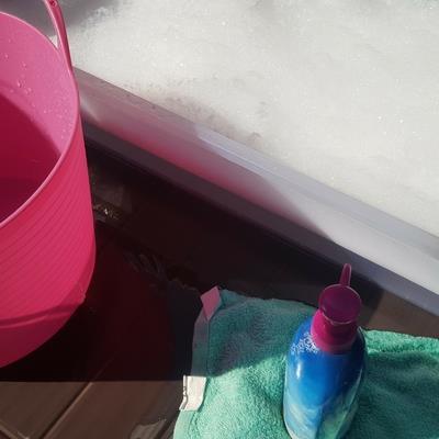 washing toys sensory water play