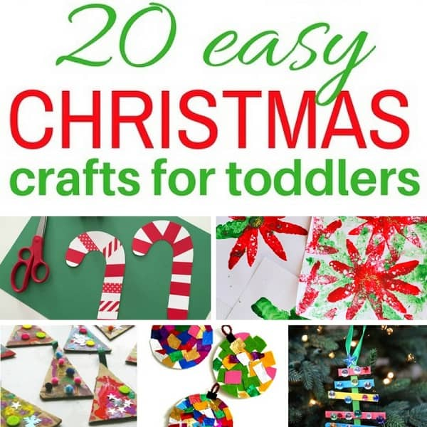 Easy Christmas Crafts for Toddlers