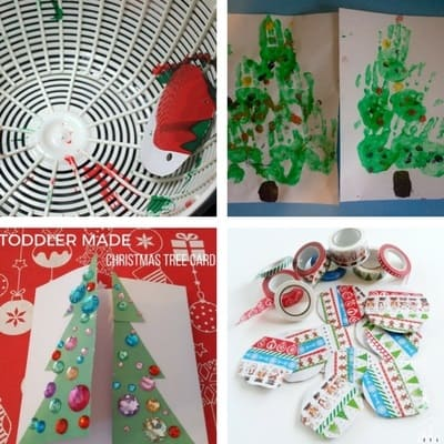 Easy Christmas Crafts For Toddlers My Bored Toddler