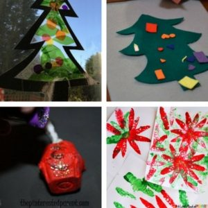 easy christmas crafts for toddlers 4 - Easy Christmas Craft