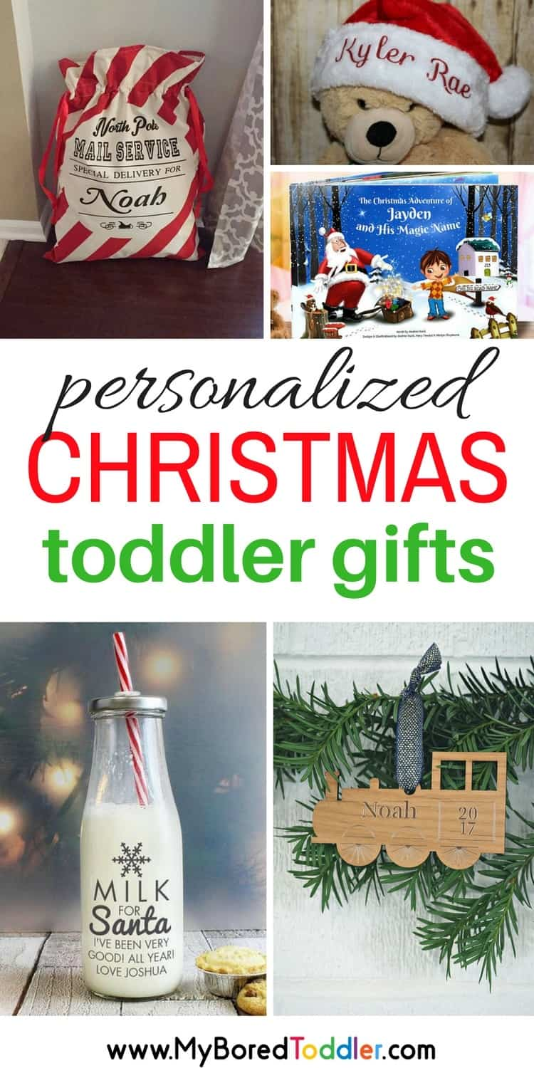 Personalized Christmas Gifts for Toddlers - My Bored Toddler