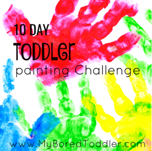 20 Toddler Painting Ideas My Bored Toddler