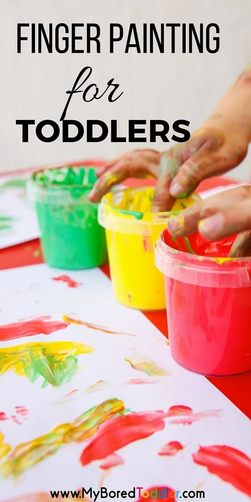 finger painting for toddlers pinterest