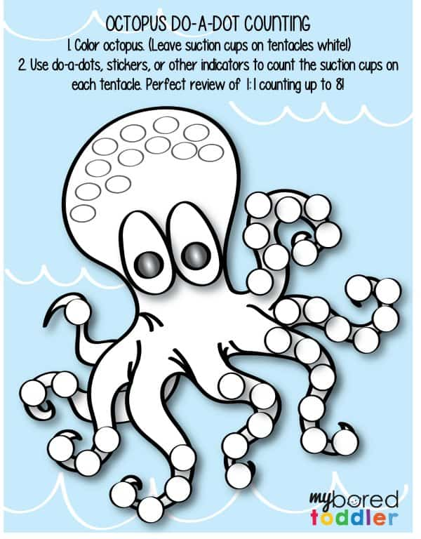 Octopus Do A Dot Counting