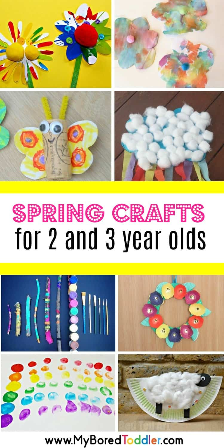 Spring crafts for 2 and 3 year olds my bored toddler for 2 year old christmas ornaments crafts