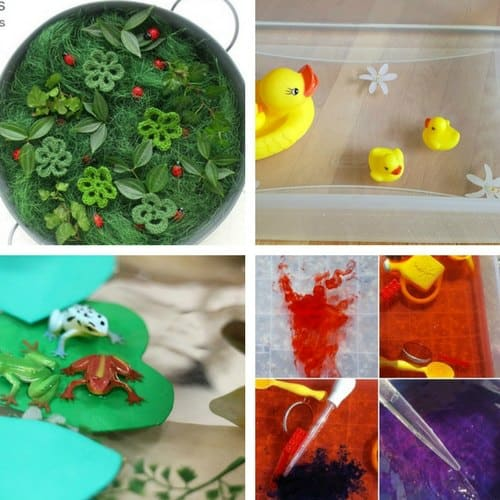 Spring Sensory Bins for Toddlers image 4
