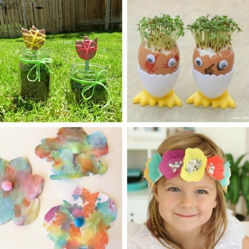 Spring crafts for 2 and 3 year olds image 5