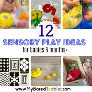12 Easy Sensory Play Ideas for Babies