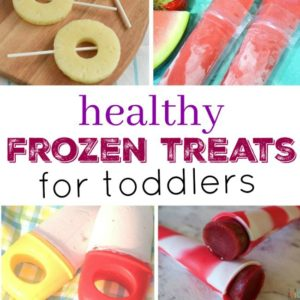 Healthy Frozen Treats for Toddlers