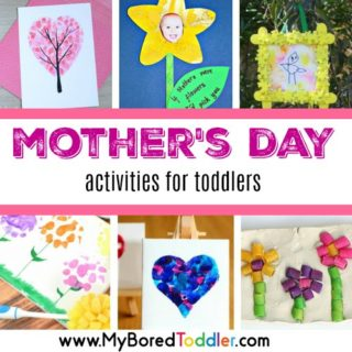 Mother's Day activities for toddlers feature
