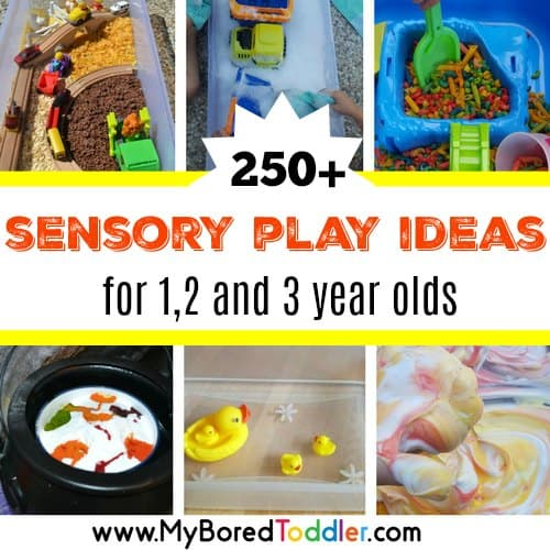 sensory play ideas for toddlers feature
