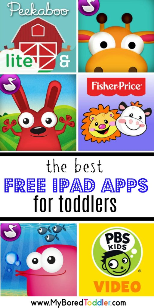 best free ipad apps for toddlers pinterest