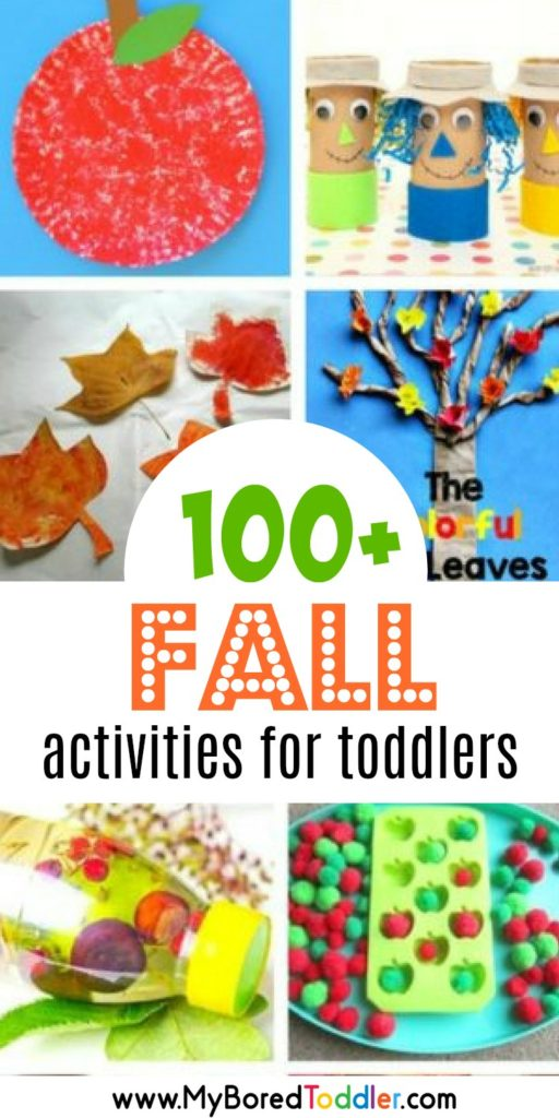 100 Fall Activities for Toddlers
