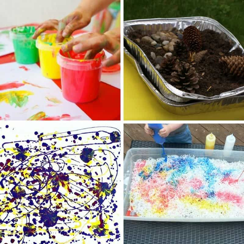 Messy play activities for toddlers 2 year olds 3 year olds image 2