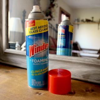 Windex foaming glass cleaner 2