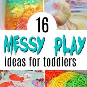 Messy Play Activities for Toddlers
