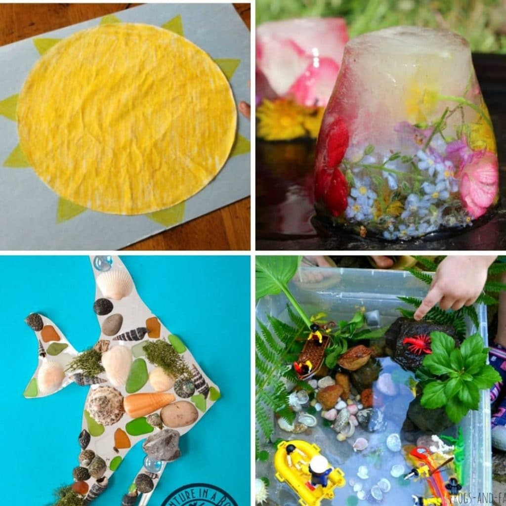 summer crafts and activities for toddlers - toddler activities for summer for 1 2 and 3 year olds
