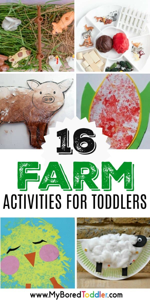 FARM ACTIVITIES AND CRAFTS FOR TODDLERS 1 YEAR OLD 2 YEAR OLD 3 YEAR OLD
