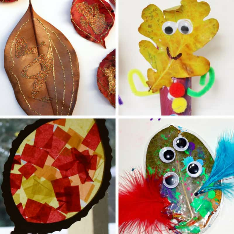 fall leaf crafts and activities for toddlers