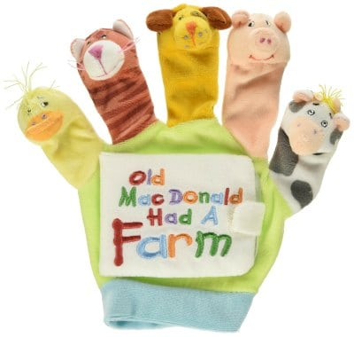 old mcdonald had a farm puppet hand book