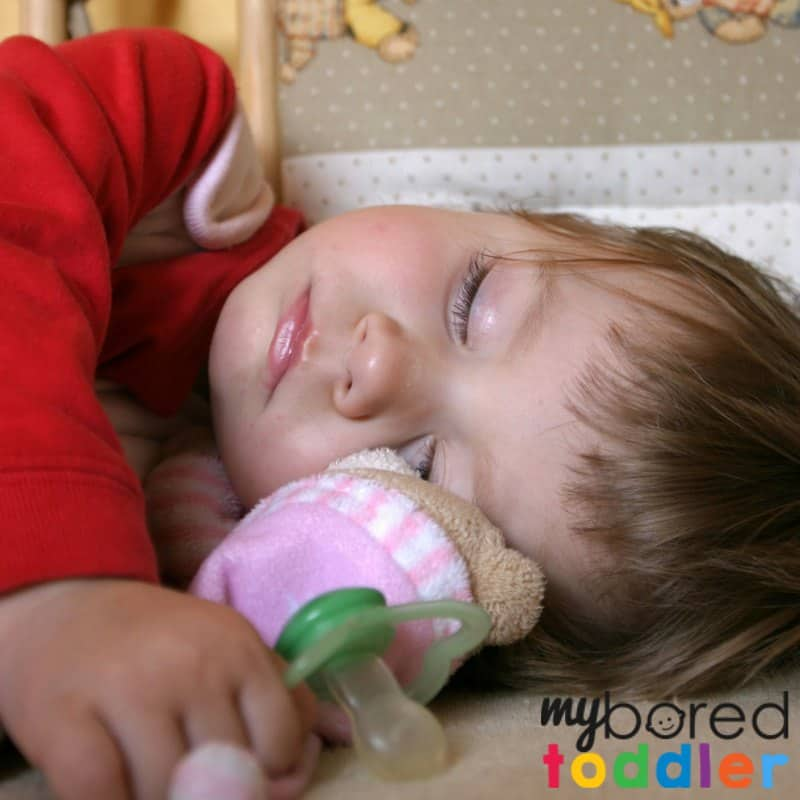 how to wean a toddler off a pacifier