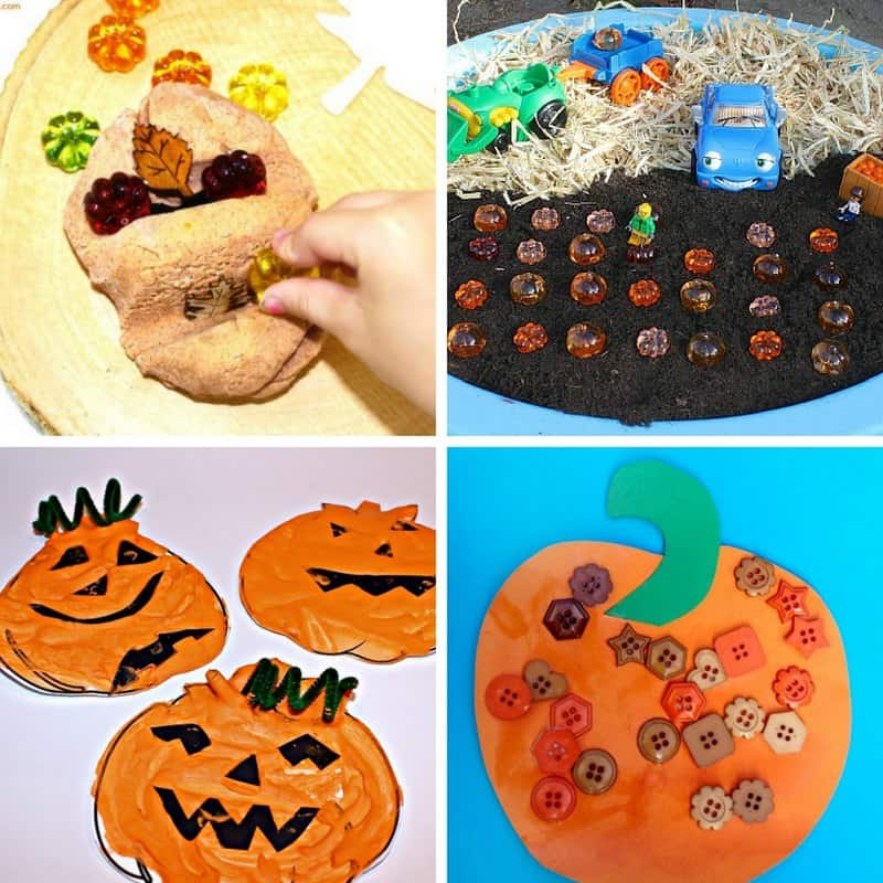 pumpkin crafts and activities for toddlers and preschoolers image 4