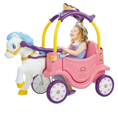 princess carriage cozy coupe