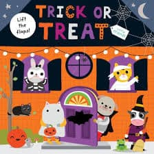 trick or treat lift the flap book