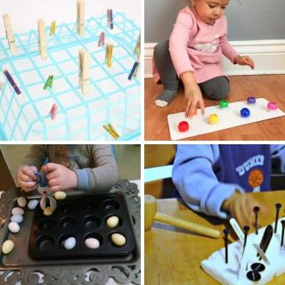 fine motor playtime ideas for toddlers