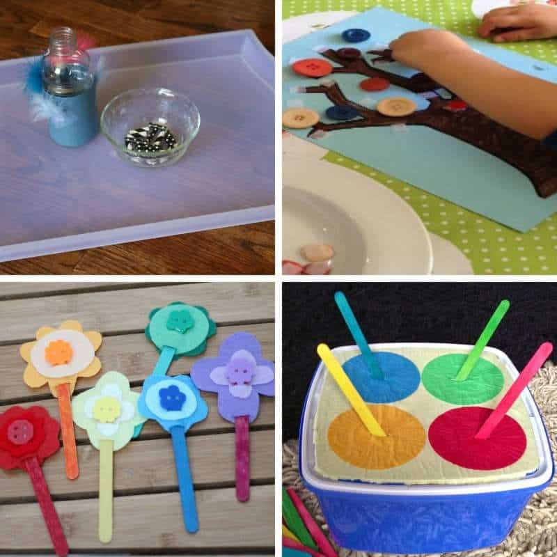 fine motor practice based activities for young children
