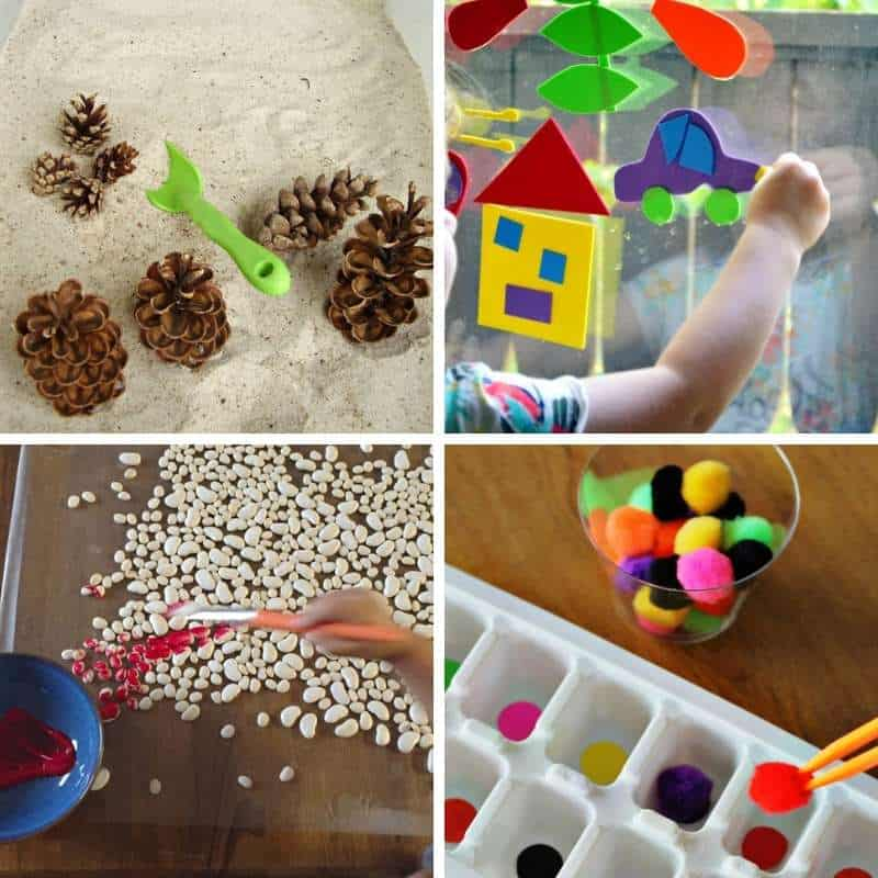 fine motor workout ideas