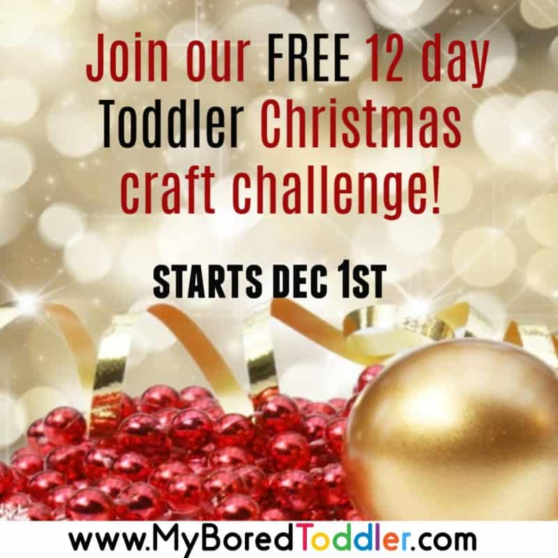 Toddler Christmas Craft Challenge – What You Need