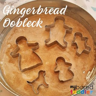gingerbread oobleck feature