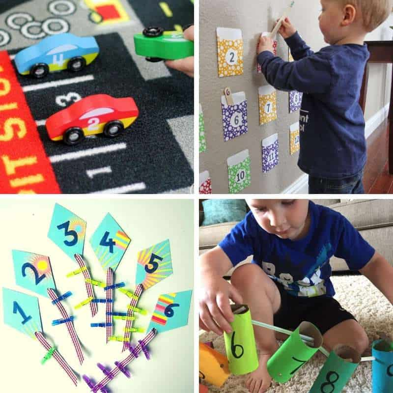 number recognition activities for toddlers
