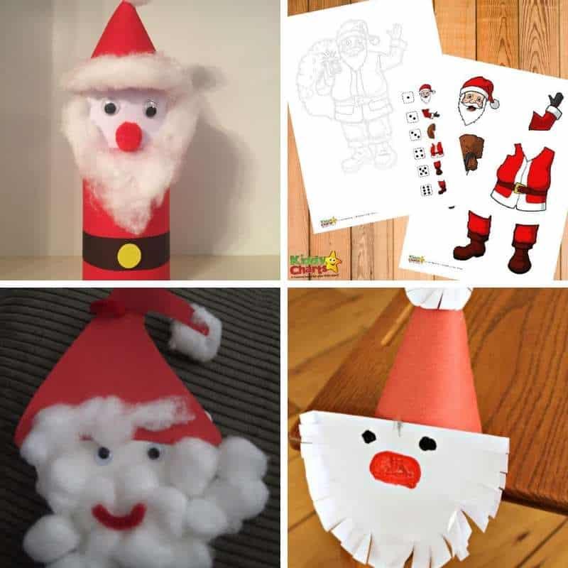santa themed activities for december