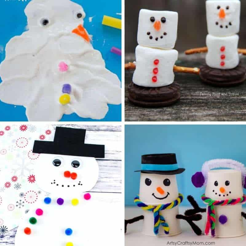 snowman activities for January