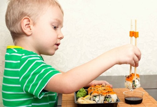 toddler healthy eating tips when you're busy sushi