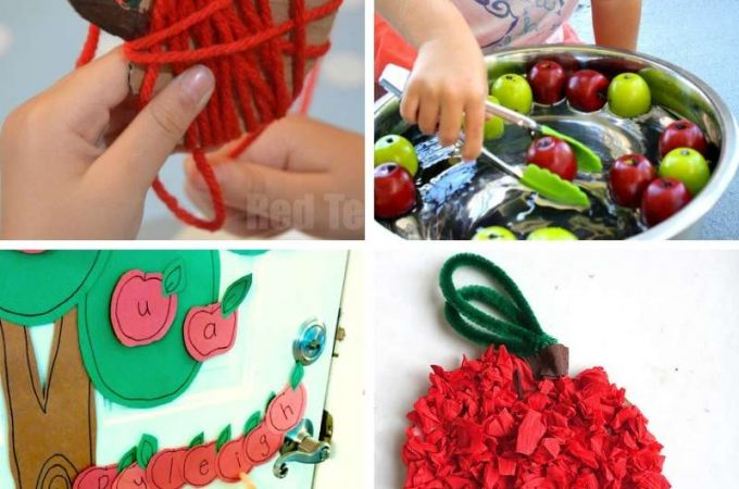 Apple themed activities for kids