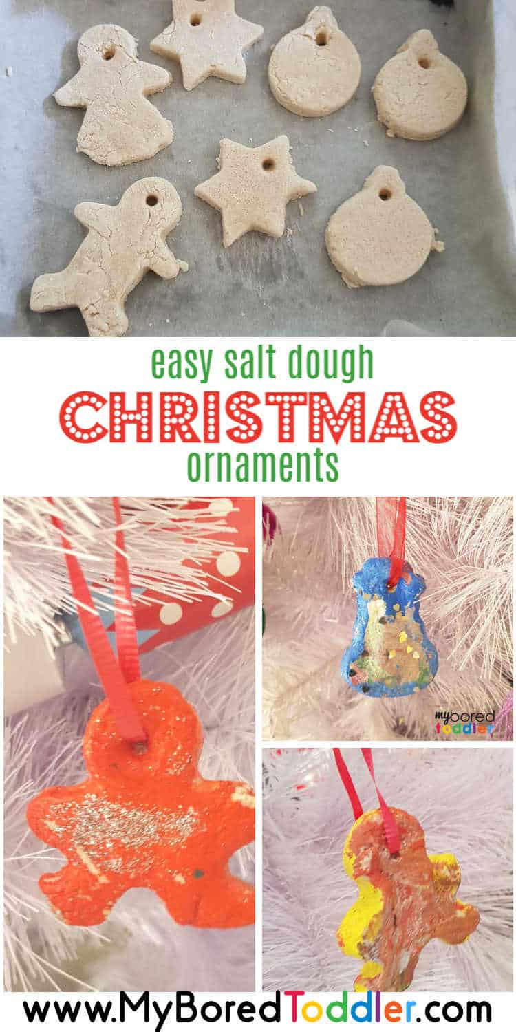 easy salt dough christmas ornaments for toddlers