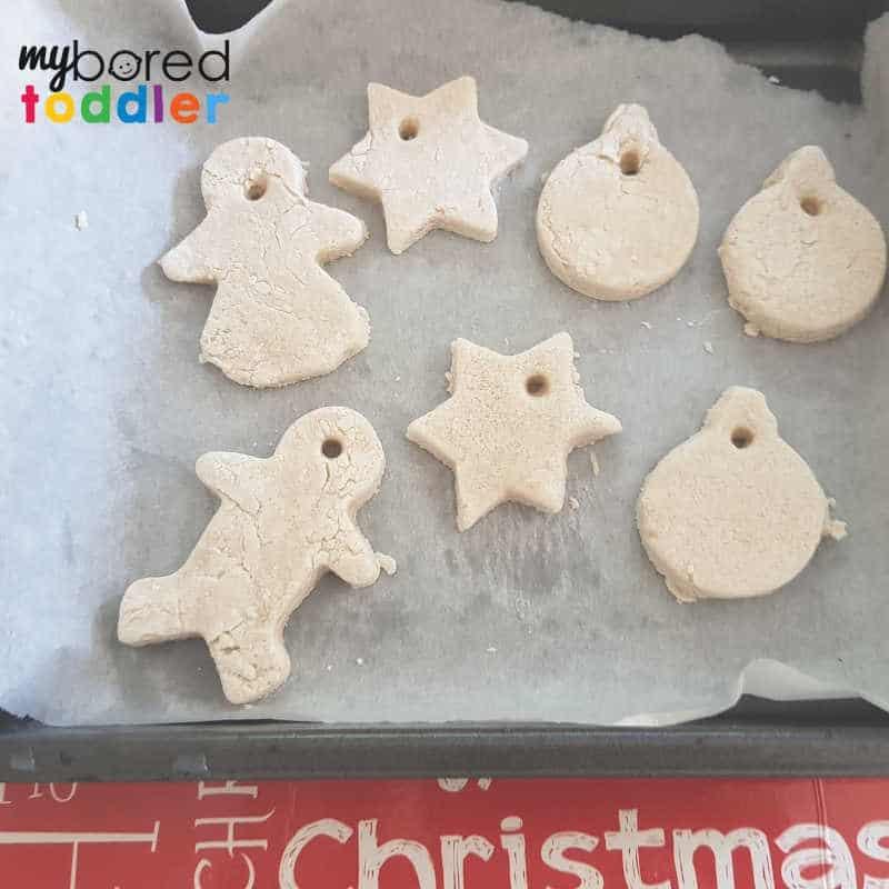 easy salt dough christmas ornaments